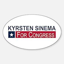 Elect Kyrsten Sinema Sticker (Oval)