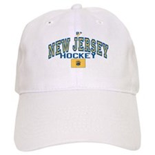 NJ Hockey Baseball Cap
