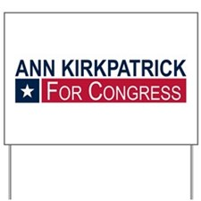 Elect Ann Kirkpatrick Yard Sign