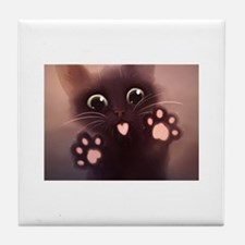 Funny Cats Tile Coaster