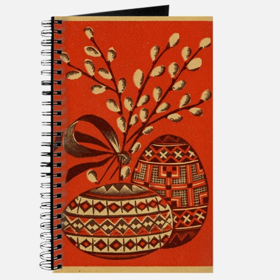 Vintage Russian Easter Card Journal