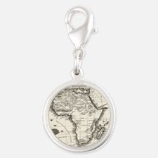 1799 Antique Map Charms