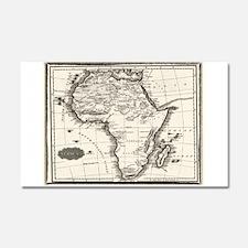1799 Antique Map Car Magnet 20 x 12