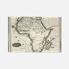 1799 Antique Map Magnets