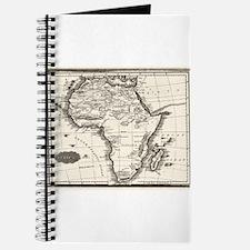 1799 Antique Map Journal