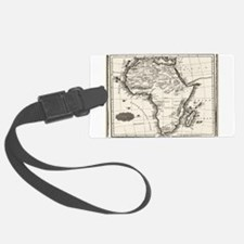 1799 Antique Map Luggage Tag