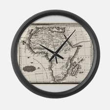 1799 Antique Map Large Wall Clock