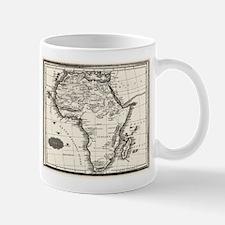 1799 Antique Map Mugs