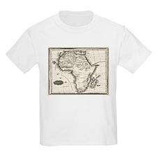 1799 Antique Map T-Shirt