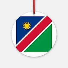 Namibia Flag Ornament (Round)