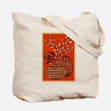 Vintage Russian Easter Card Tote Bag