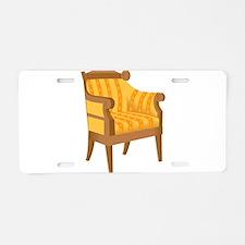 Chair 53 Aluminum License Plate