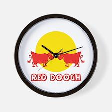red_doogh Wall Clock