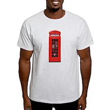 British Phone Box T-Shirt