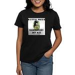 Dangerous My Ass - Rottie Women's Dark T-Shirt