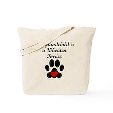 Wheaten Terrier Grandchild Tote Bag