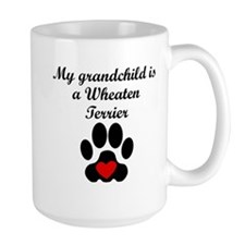 Wheaten Terrier Grandchild Mugs