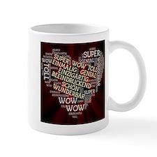 made of words german Mugs
