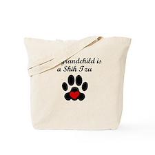 Shih Tzu Grandchild Tote Bag