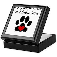 Shiba Inu Grandchild Keepsake Box