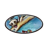 Labrador retriever angel Patches