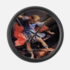 Saint Michael the Archangel Quis ut Deus Large Wal