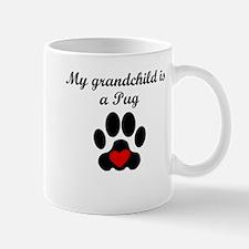 Pug Grandchild Mugs