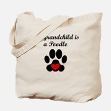 Poodle Grandchild Tote Bag