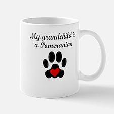 Pomeranian Grandchild Mugs