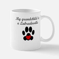 Labradoodle Grandchild Mugs