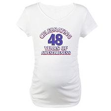 Celebrating 48 years of awesomeness Shirt