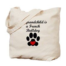 French Bulldog Grandchild Tote Bag