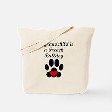 French Bulldog Grandchild Tote Bag