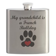 French Bulldog Grandchild Flask