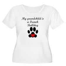 French Bulldog Grandchild Plus Size T-Shirt