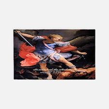 Saint Michael the Archangel Quis ut Deus 3'x5' Are