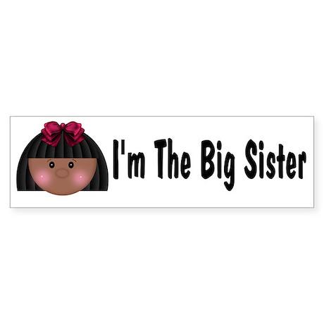 African American Big Sister Bumper Sticker