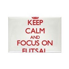 Keep calm and focus on Futsal Magnets