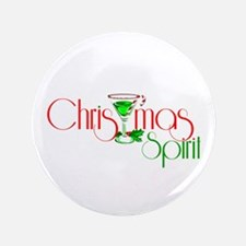 "Christmas Spirit 3.5"" Button"