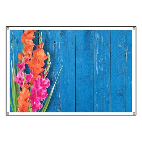 Distressed Wood Banner
