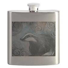 Spiral badger Flask