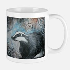 Spiral badger Mugs