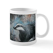 Spiral badger Mugs