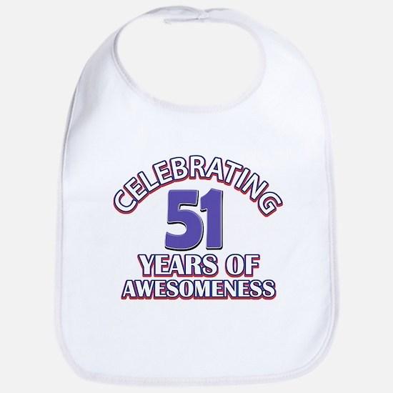 Celebrating 51 years of awesomeness Bib