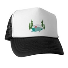 Camper Scene Trucker Hat