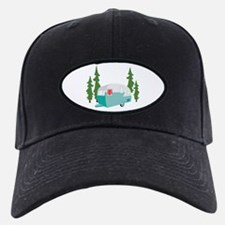 Camper Scene Baseball Hat