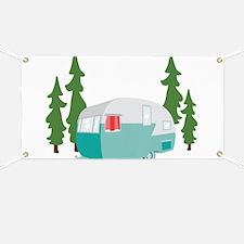 Camper Scene Banner