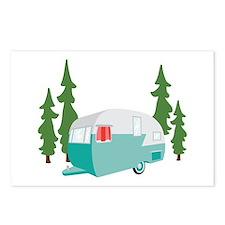 Camper Scene Postcards (Package of 8)