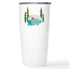 Camper Scene Travel Mug