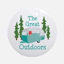The Great Outdoors Ornament (Round)